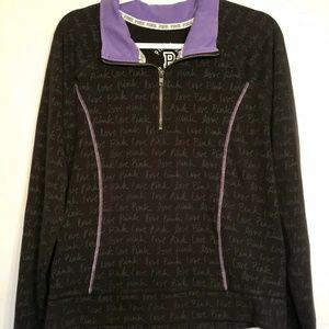 Pink VS hoodie Black & Purple size Large